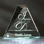 Mosaic Triangle Corporate Acrylic Awards