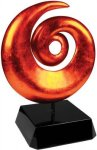 Orange Art Sculpture Award Employee Awards