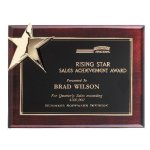 Corner Star Plaque Patriotic Trophies & Awards