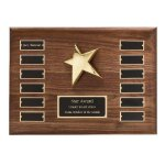 Perpetual Star Plaque Patriotic Trophies & Awards
